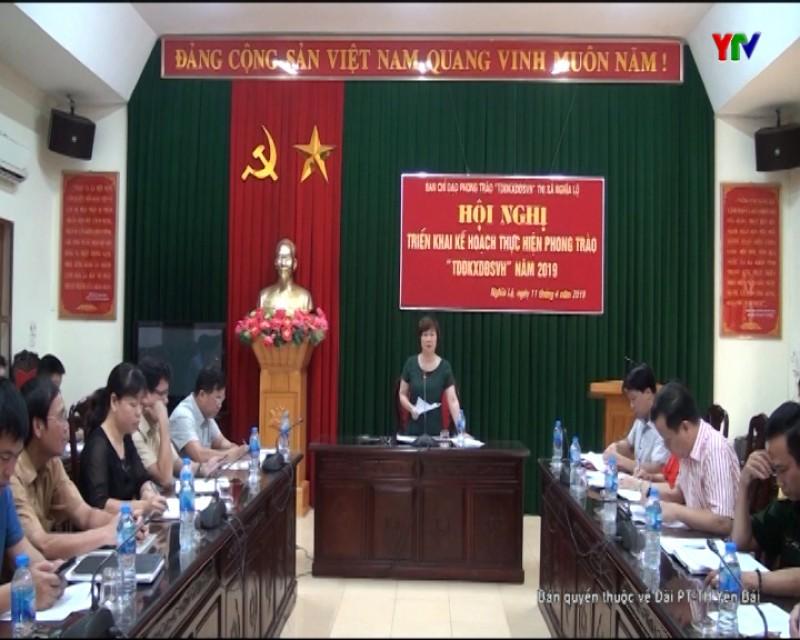 Thị xã Nghĩa Lộ triển khai Phong trào Toàn dân đoàn kết xây dựng đời sống văn hóa năm 2019