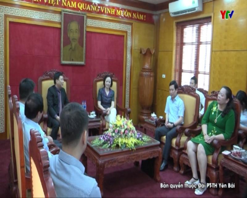 Đồng chí Bí thư Tỉnh ủy Phạm Thị Thanh Trà tiếp đoàn công tác Tập đoàn ALPHANAM