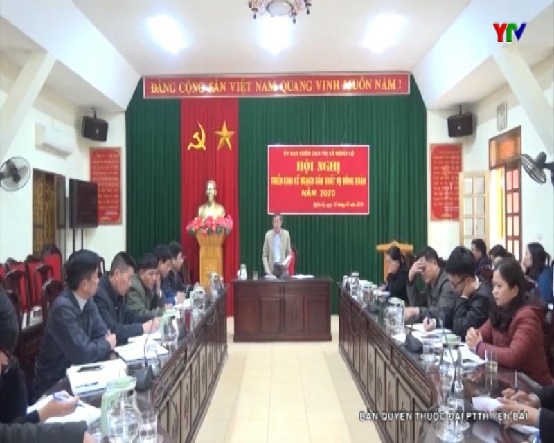 Thị xã Nghĩa Lộ triển khai kế hoạch sản xuất vụ đông xuân năm 2020